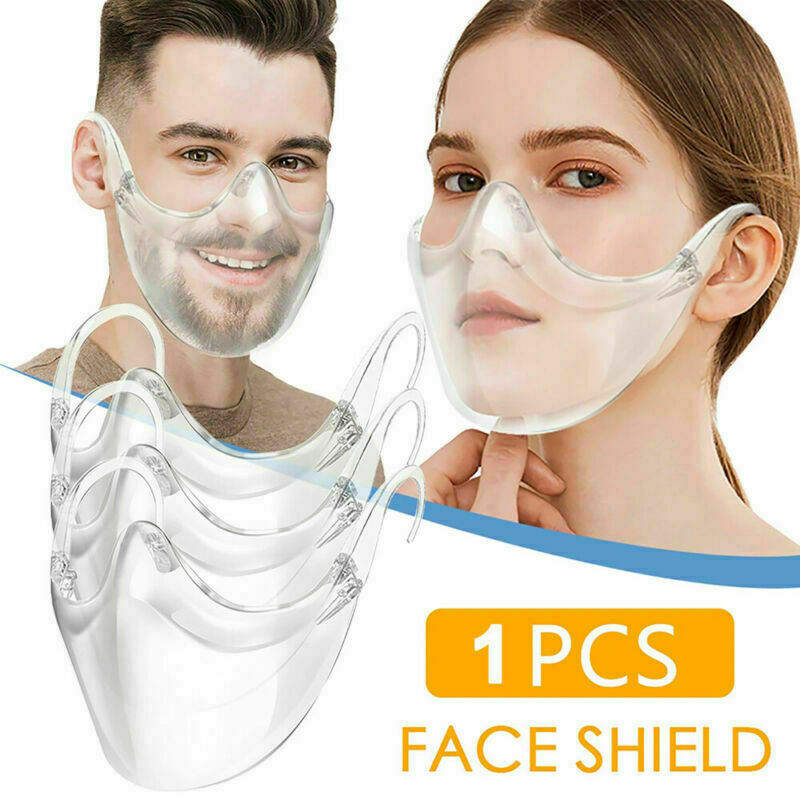 Nouveau masque de protection transparent